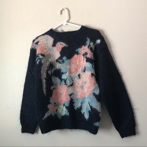 Lauren Cole Vintage mohair winter sweater